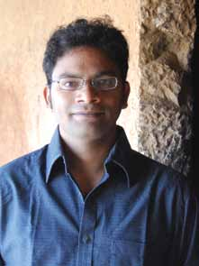 Mangesh Dahiwale, a young leader of the Manuski Project in Pune