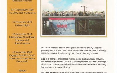 ENGAGED BUDDHIST FESTIVAL OF PEACE AND SOCIAL TRANSFORMATION
