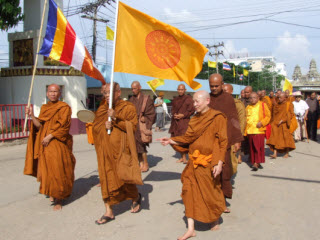 Thailand, Cambodia join 'Dhamma Yatra' call for peace