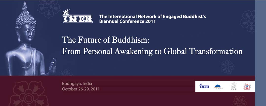 The Future of Buddhism: From Personal Awakening to Global Transformation, Banner and Standee