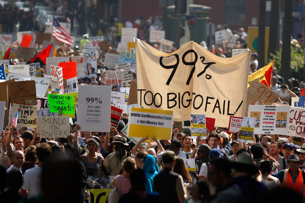 Waking Up from the Nightmare: Buddhist Reflections on Occupy Wall Street