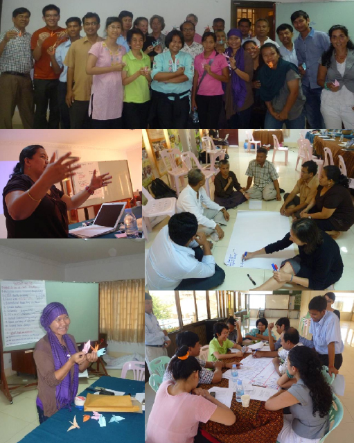 CAMBODIA-THAILAND WORKSHOP FOR REFLECTING ON PEACE PRACTICE