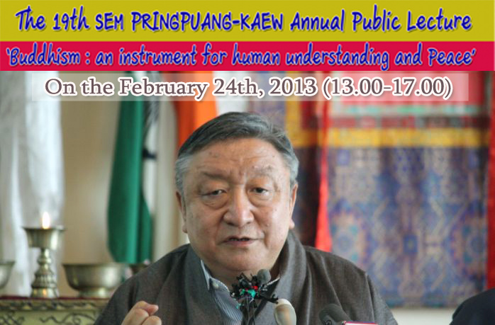 The 19th SEM PRINGPUANG-KAEW Annual Public Lecture