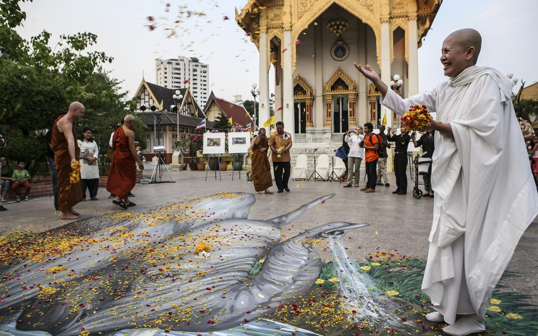 Thai Buddhist leaders pray for poached elephants, call for end to ivory use
