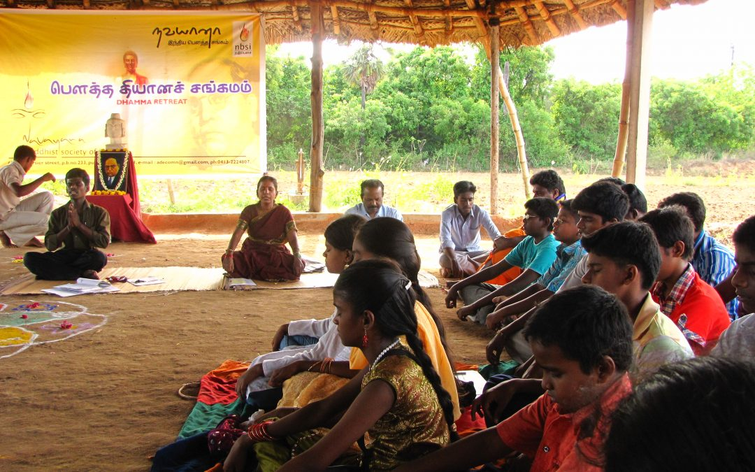 Community way of Buddhism in South India
