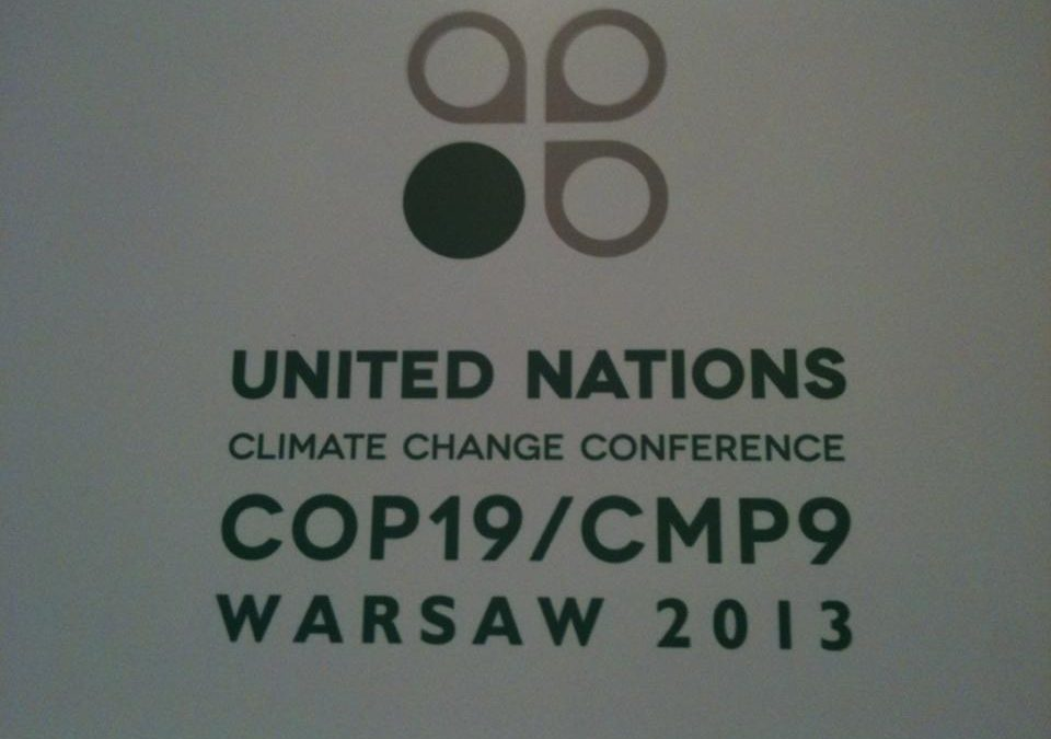 Interfaith Representatives at COP 19  call to fast for Climate Justice