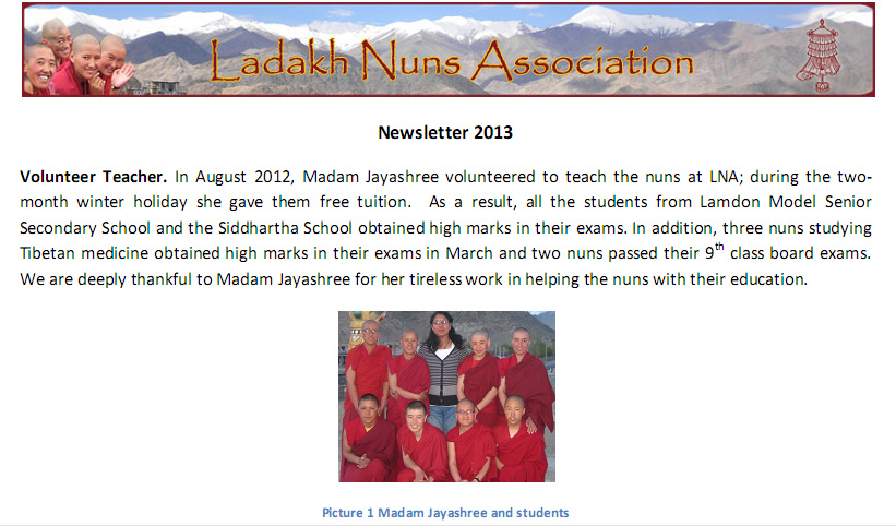 LNA newsletter 2013‏