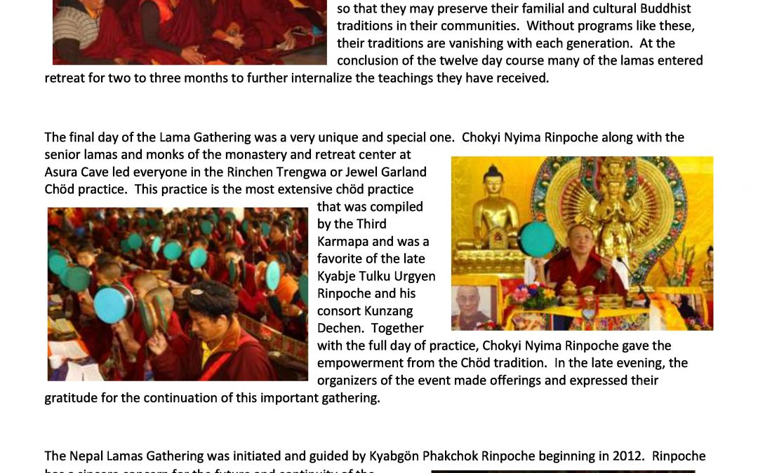 2nd Annual Gathering Enriches Himalayan Dharma Communities