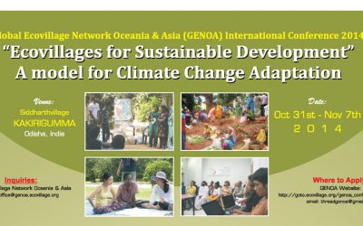 Ecovillages for sustainable Development  2014