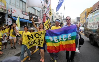 Peace in Jeju's Kangjeong Village! Stop the construction of Navy base in Jeju