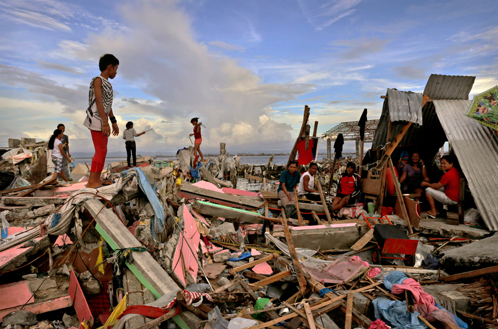 The anniversary of Typhoon Haiyan