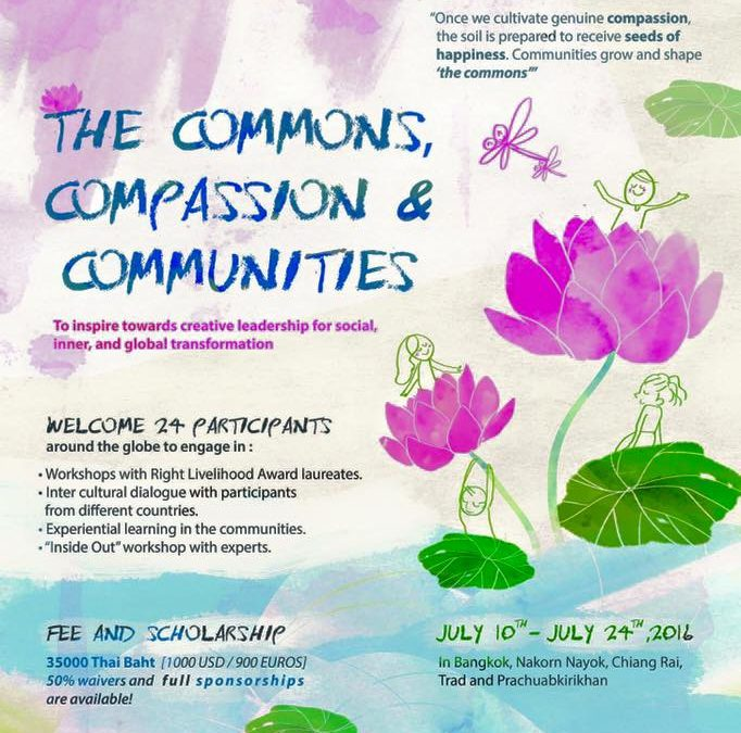 The commons, compassion & communitites