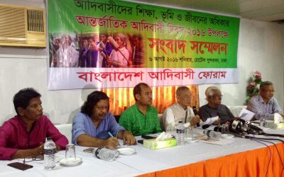 United struggle of indigenous peoples will establish their right of self-determination, BIPF press conference told