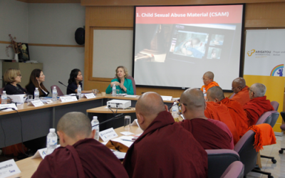 Buddhist leaders of the Mekong region and Sri Lanka Discuss Prevention of Violence against Children