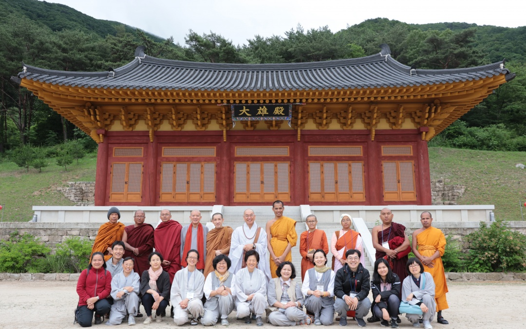 INEB Sangha trip to Jungto Society, South Korea 2019