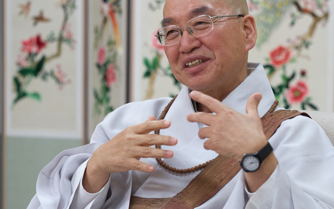 Korean Buddhist Monk Pomnyun Sunim Wins 37th Niwano Peace Prize