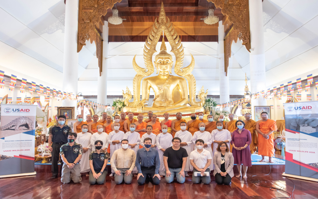 USAID WILDLIFE ASIA TRAINING REPORT – WORKSHOP FOR SPIRITUAL LEADERS ON REDUCING DEMAND FOR WILDLIFE PRODUCTS