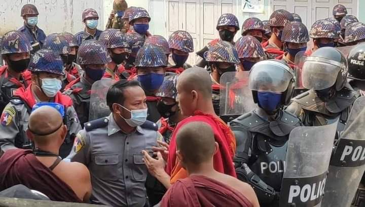 URGENT APPEAL for Humanitarian Relief to support Buddhist Monks and Nuns in Myanmar's Political Movement Against Military Dictatorship
